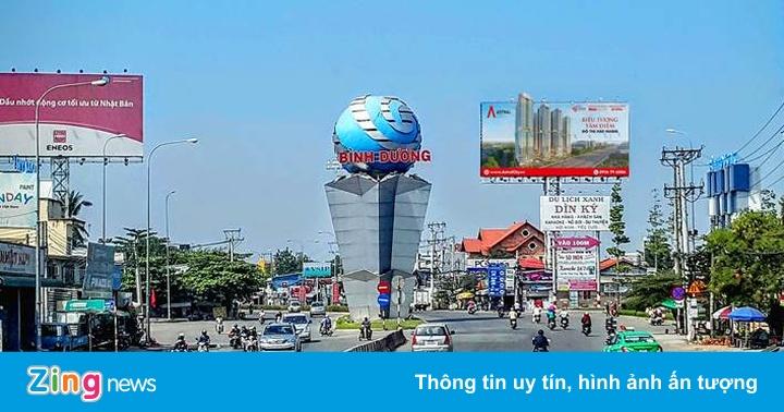 Triển khai trục đại lộ kinh tế, tài chính, dịch vụ tại Thuận An