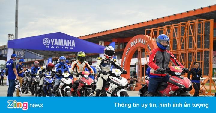Cơ hội trải nghiệm Exciter 155 VVA tại trường đua Circuit Run