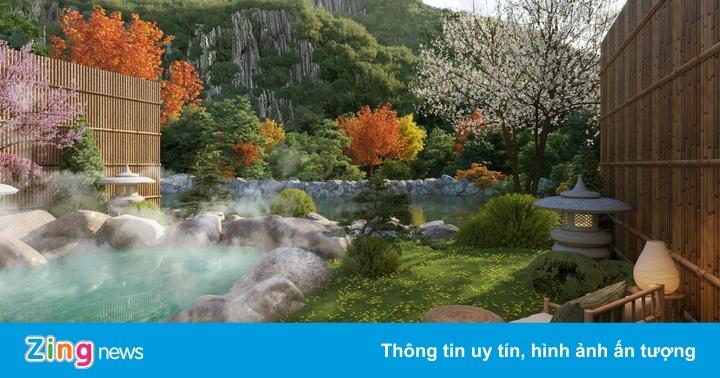 Biệt thự khoáng nóng được lòng giới nhà giàu Việt