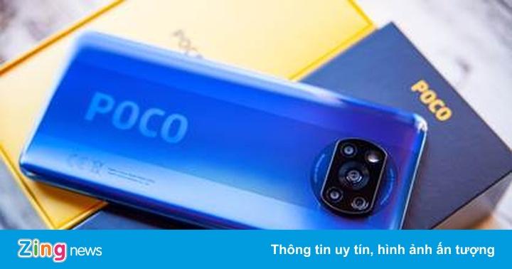 Poco F3, X3 Pro mở bán độc quyền trên hai sàn TMĐT