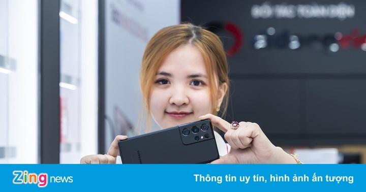Galaxy S21 Plus 5G, S21 Ultra 5G giá từ 16,6 triệu tại Di Động Việt