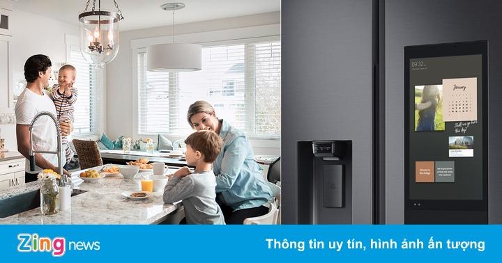 Những 'tiến hóa' biến tủ lạnh thành quản gia trong gia đình