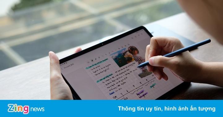 Mẫu tablet cho người thích ghi chú, ngại cồng kềnh, có thể thay laptop