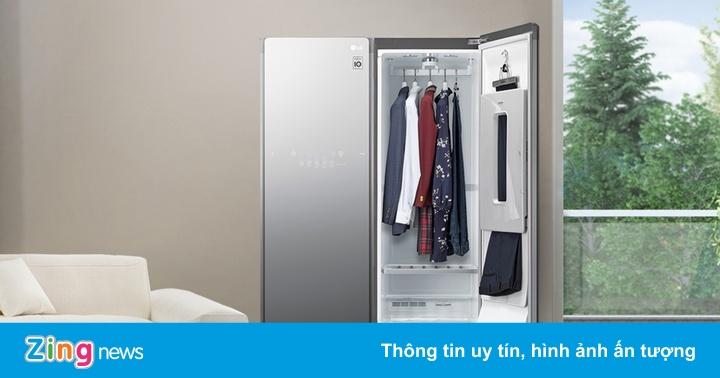 Tủ chăm sóc quần áo LG Styler S5MB - thiết kế mặt gương, dung tích lớn