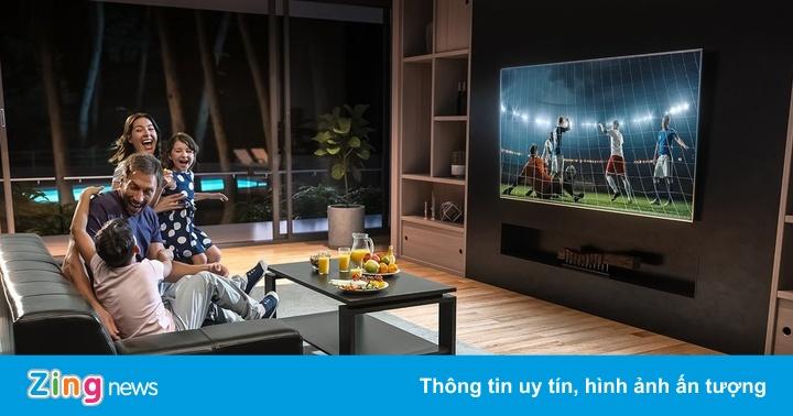 Samsung Neo QLED 8K là chiếc TV tốt để xem Euro