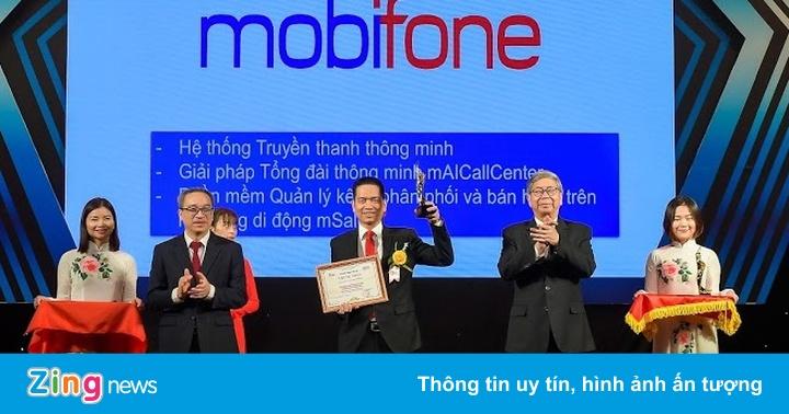 MobiFone vào top 10 doanh nghiệp CNTT - viễn thông tại Việt Nam