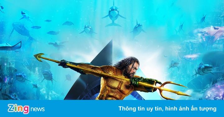 Bom tấn 'Aquaman' thu gần 40 tỷ tại Việt Nam tuần công chiếu