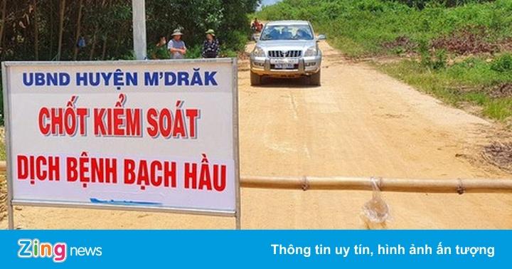 Đắk Lắk cách ly hàng nghìn người dân do dịch bệnh bạch hầu