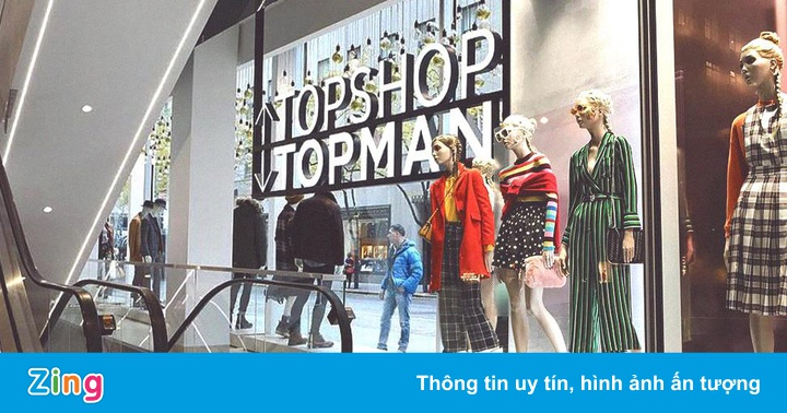 Đế chế Topshop đệ đơn phá sản, đóng toàn bộ cửa hàng ở Mỹ