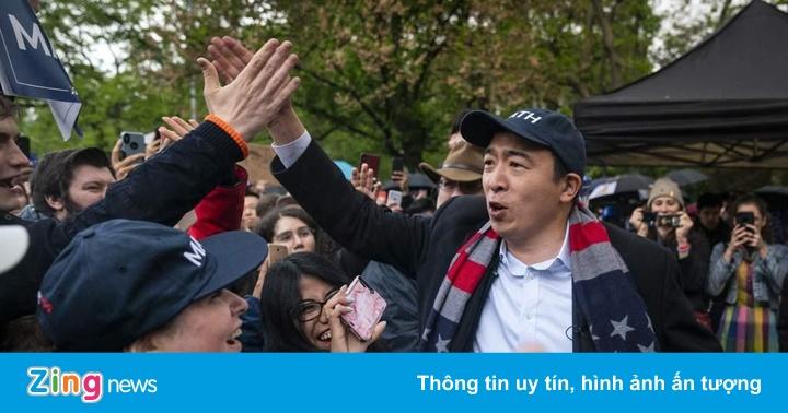 Ứng viên tổng thống Mỹ gốc Á hứa chia 12.000 USD/năm cho mỗi người dân