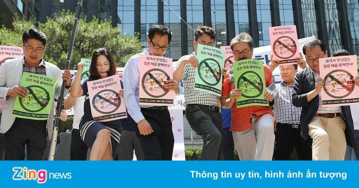 Hàng loạt thương hiệu Nhật Bản lao đao vì bị dân Hàn Quốc tẩy chay