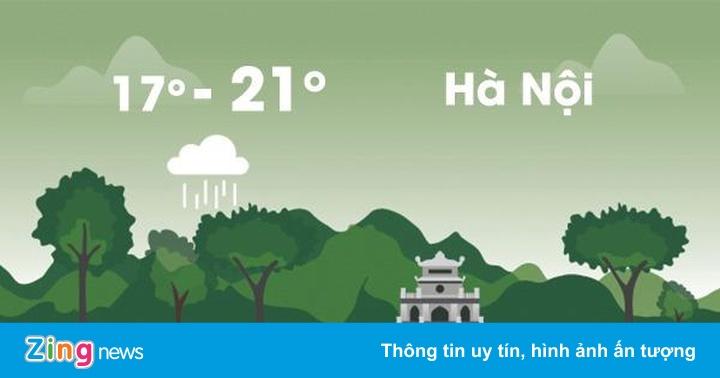 Thời tiết ngày 19/1: Sài Gòn mưa rào, Hà Nội sương mù