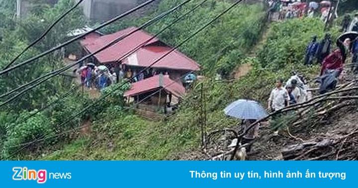 Ít nhất 6 người chết, 5 người mất tích ở Lai Châu vì sạt lở