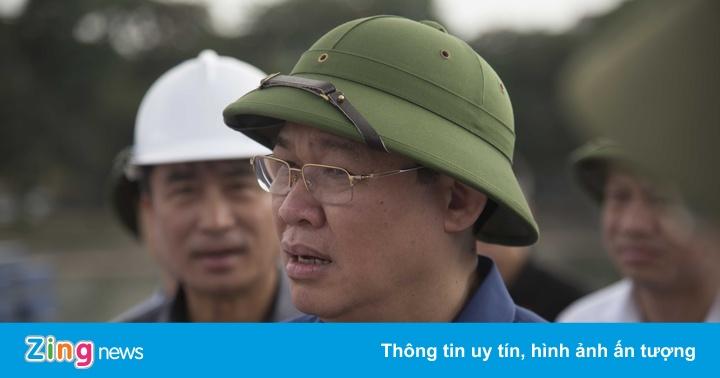 Bí thư Hà Nội kiểm tra các dự án giao thông trọng điểm