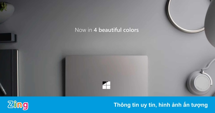Microsoft ra laptop mới, giá ngang MacBook Air