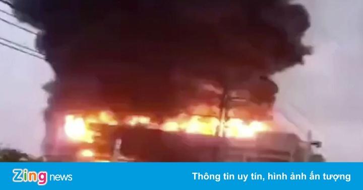 Cháy lớn tại nhà máy cung ứng cho Apple khiến 8 người chết