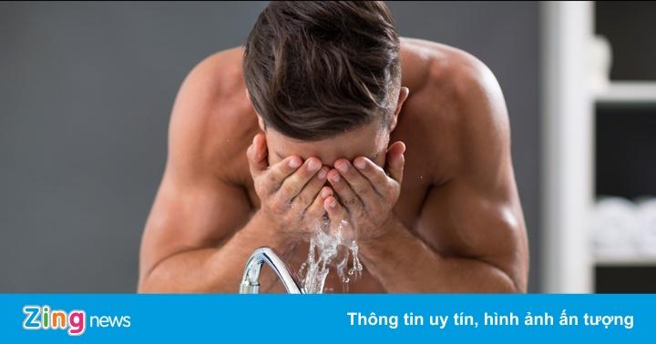 5 sai lầm khi rửa mặt của nam giới