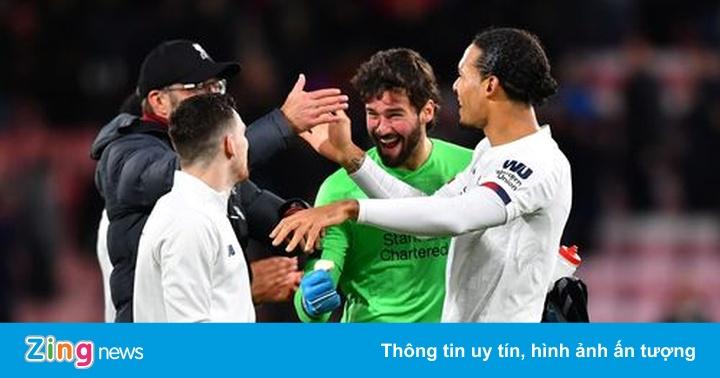 Liverpool nâng khoảng cách với Man City lên thành 14 điểm