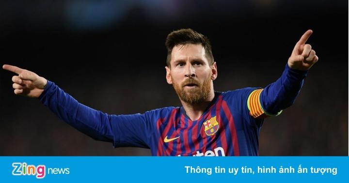 Messi tạo cột mốc mới và vượt thành tích ghi bàn của Ronaldo