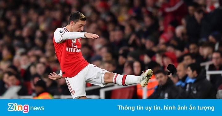 Oezil tức giận vì bị các CĐV Arsenal la ó - kết quả xổ số bình định
