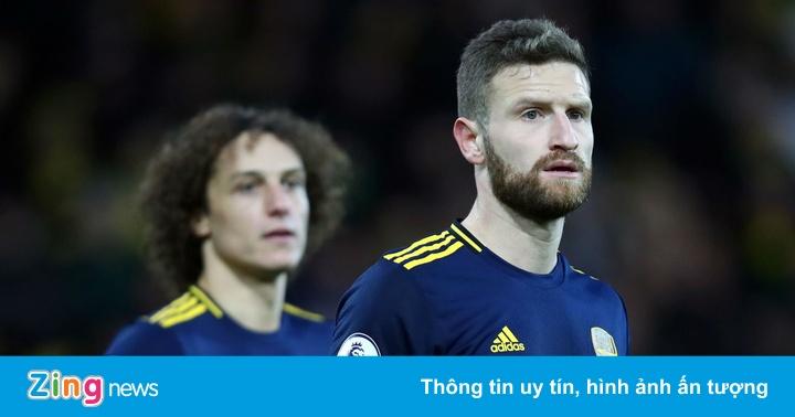 Thủ môn Arsenal: ''Tôi thấy an toàn khi đứng sau Luiz và Mustafi''