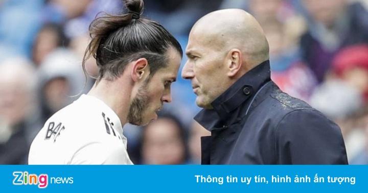Bale tỏ thái độ cứng rắn với HLV Zidane