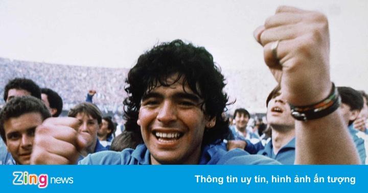Diego Maradona - con người hoan lạc trên sân cỏ
