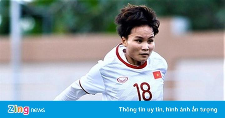 Tuyển thủ nữ Việt Nam ghi bàn ấn tượng ở giải vô địch quốc gia