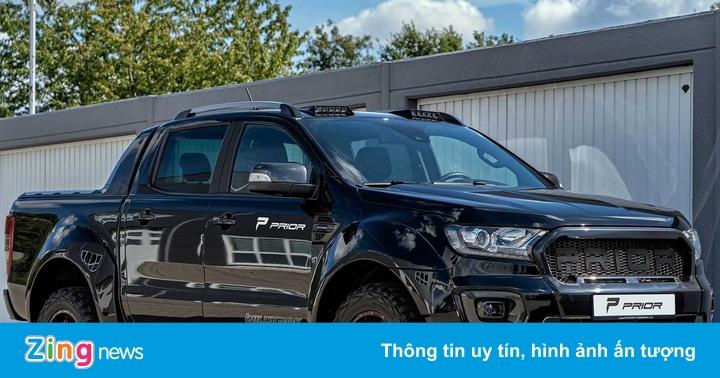 Ford Ranger hầm hố với gói độ thân rộng tại Đức