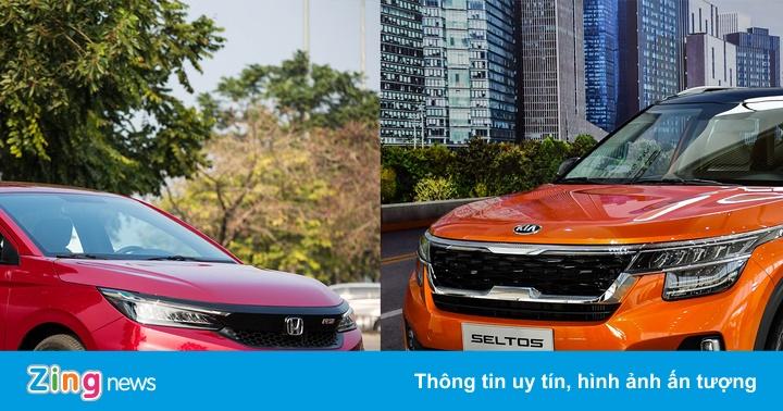 Ôtô giá 600 triệu đồng, tôi nên mua Honda City hay Kia Seltos?