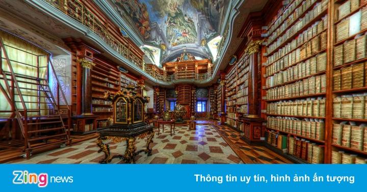 Khám phá thư viện đẹp nhất thế giới