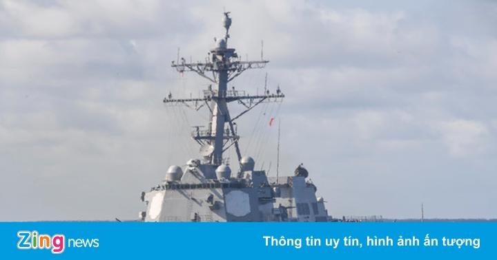 Mỹ điều chiến hạm thách thức Trung Quốc ở quần đảo Hoàng Sa
