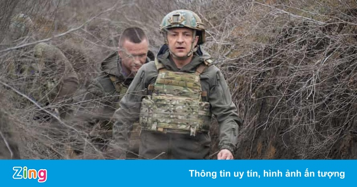 Binh sĩ Ukraine thiệt mạng vì trúng đạn pháo