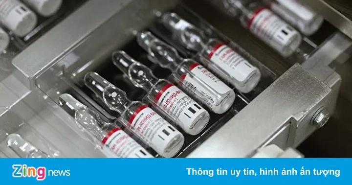 Nga dự kiến sản xuất 2 triệu liều vaccine Covid-19 mỗi tháng