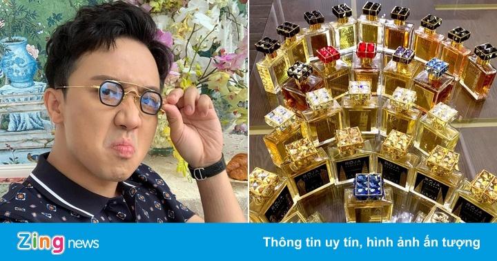 Trấn Thành chi tiền 'khủng' sắm hàng trăm chai nước hoa hàng hiệu
