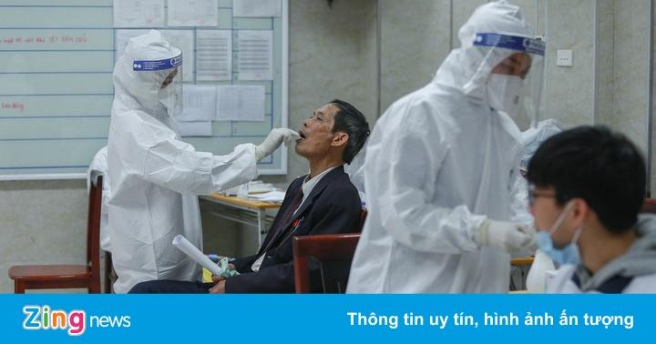 Gần 600 người về Hà Nội từ Cẩm Giàng âm tính với SARS-CoV-2