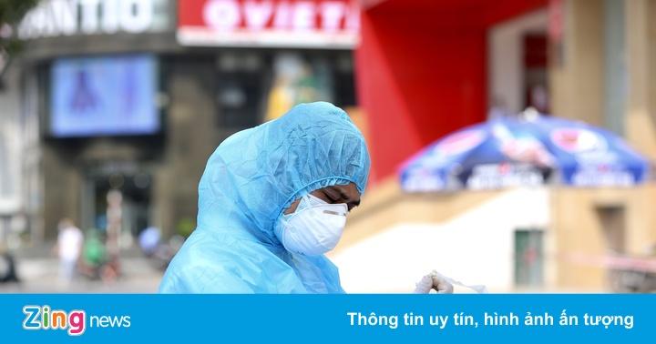 Người giao pizza gần Vincom Bà Triệu dương tính với nCoV