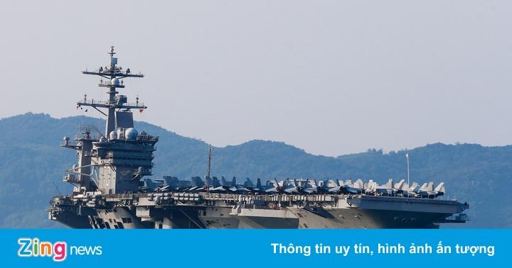 4 ngày 'lịch sử' của siêu tàu sân bay USS Carl Vinson tại Đà Nẵng