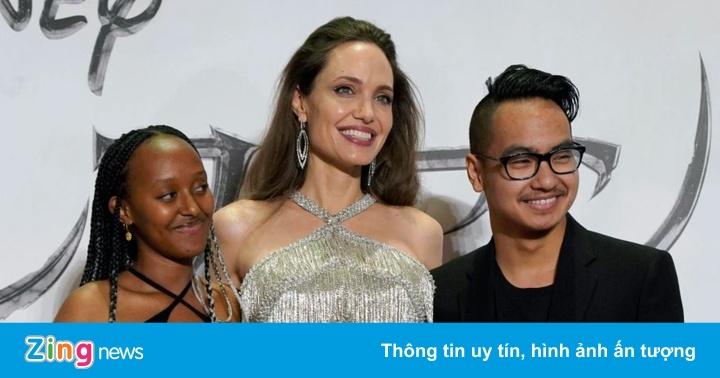 Angelina Jolie và các con cách ly tại nhà sau khi Maddox trở về từ Hàn